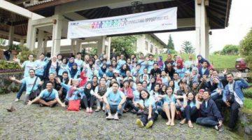 Tiga Hari, 200 Relawan Dari 35 Kota Di Indonesia