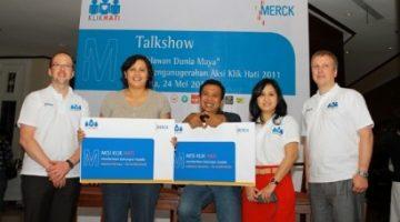 Penghargaan Pertama: KlikHati Award 2011