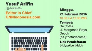 Akber Jakarta: Digital Media, Now and Then