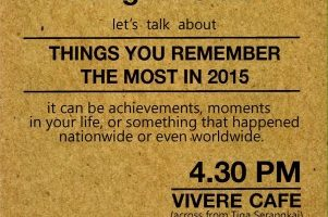 Akber Solo: #englishclub Things You Remember The Most In 2015