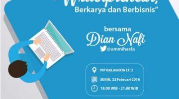 Akber Semarang: Writerpreneur