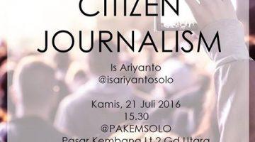 Solo: Citizen Journalism