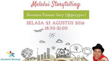 Jakarta: Sebarkan Virus #MenjadiRelawan dengan Storytelling