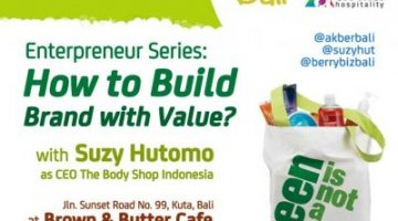 Akber Bali: How to Build Brand with Value