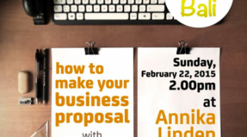 Akber Bali: Make Business Proposal