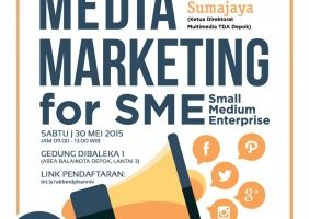Akber Depok: Social Media Marketing for SME
