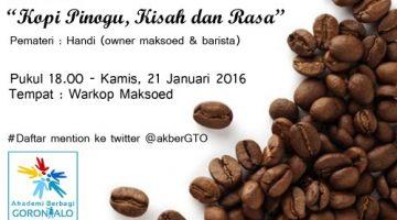 Akber Gorontalo: Kopi Pinogu, Kisah dan Rasa