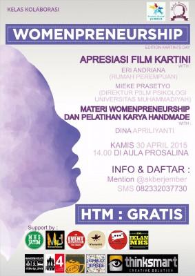 Akber Jember: Womenpreneurship