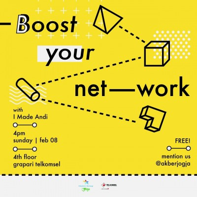 Akber Jogja: Boost your network