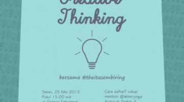 Akber Jogja: Creative Thinking