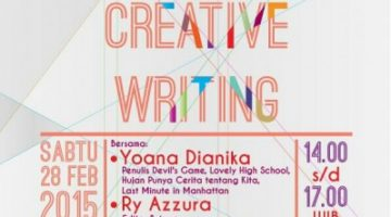 Akber Jogja: Creative Writing