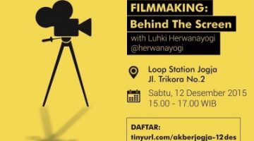 Akber Jogja: Film Making Behind the Screen