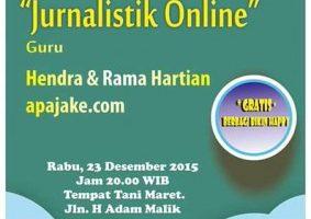 Akber Labuan Batu: Jurnalistik Online
