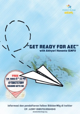 Akber Malang: Get Ready for AEC