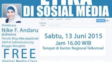Akber Palembang: Etika di Social Media