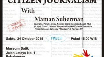 Akber Pekalongan: Citizen Journalism
