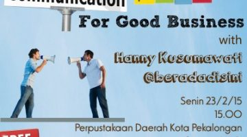 Akber Pekalongan: Effective Communication Plan for Good Business