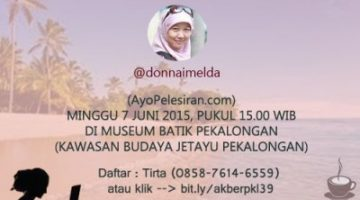 Akber Pekalongan: Travel Blogger