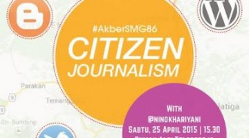 Akber Semarang: Citizen Journalism