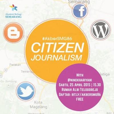 Akber Semarang: Citizen Journalism