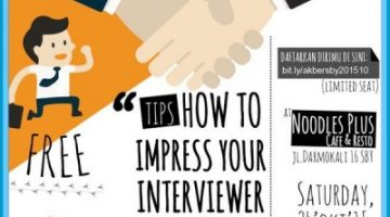 Akber Surabaya: How To Impress Your Interviewer