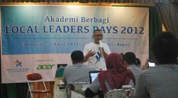 LLD I: Dengan 30 kota sudah cukup untuk mengubah Indonesia