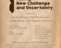 Public Lecture: Facing New Challenge and Uncertainty