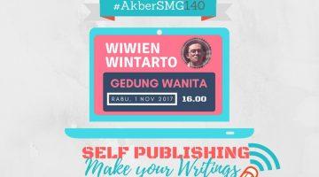 Semarang: Self Publishing, Make Your Writings Go Viral