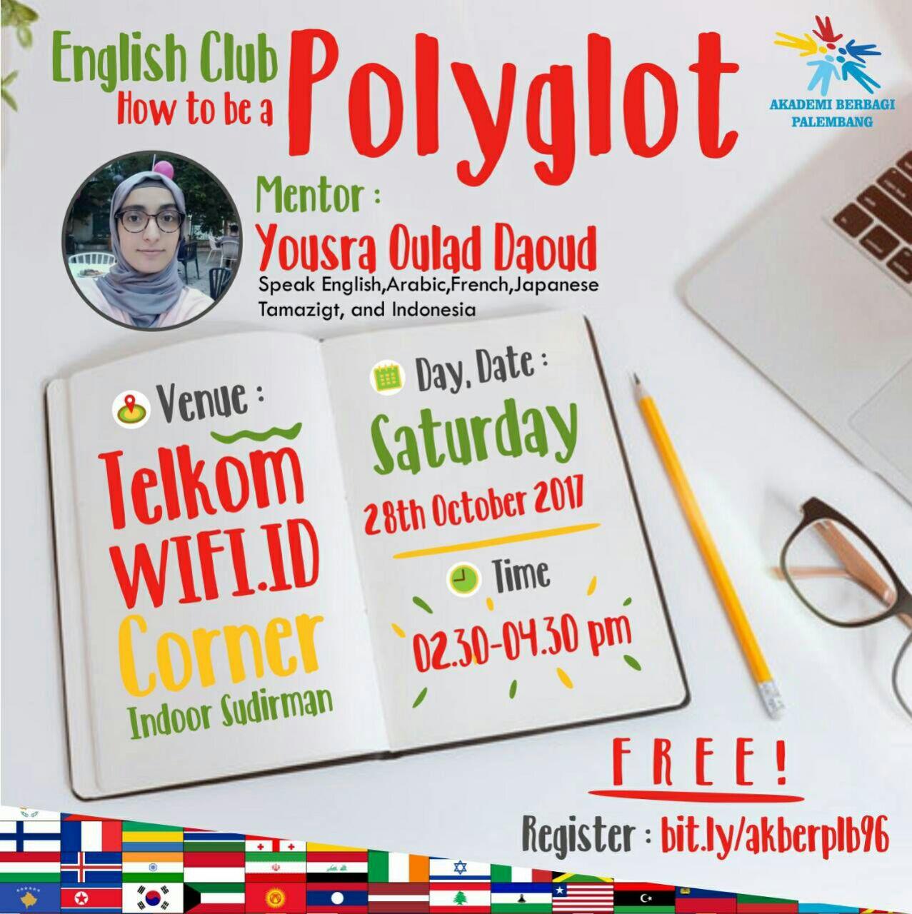 Palembang: English Club – How To Be Polyglot