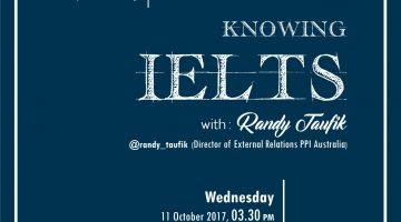 Jogja: Knowing IELTS
