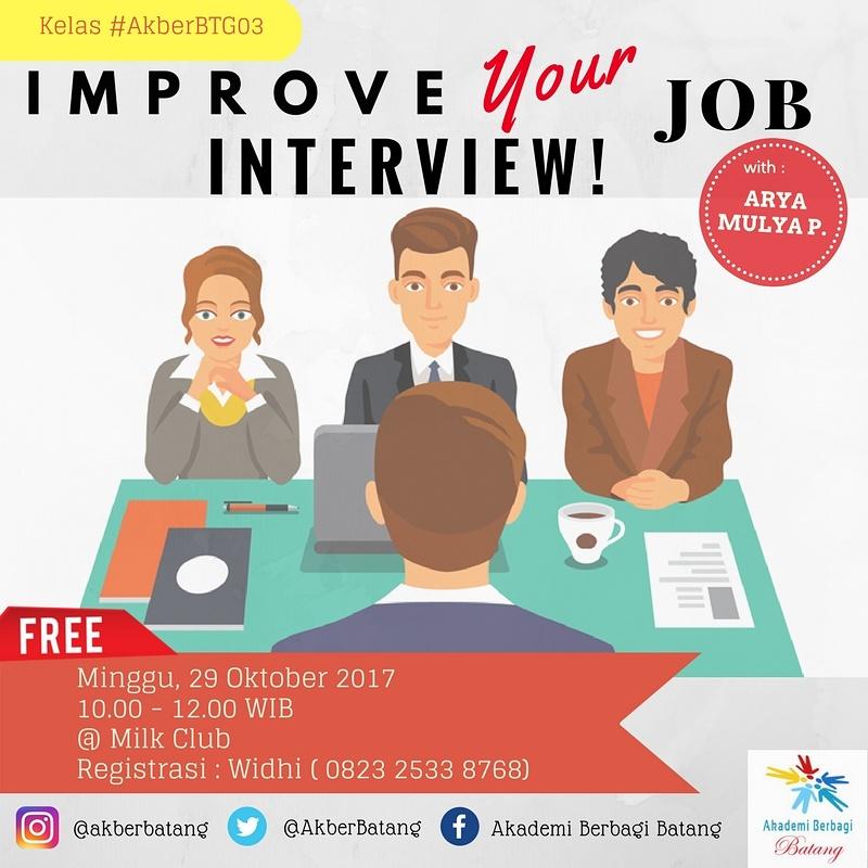 Batang: Improve Your Job Interview!