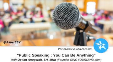 Surabaya: Public Speaking – You Can Be Anything