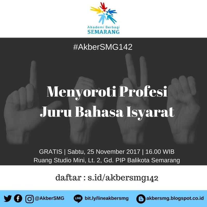 Semarang: Menyoroti Profesi Juru Bahasa Isyarat