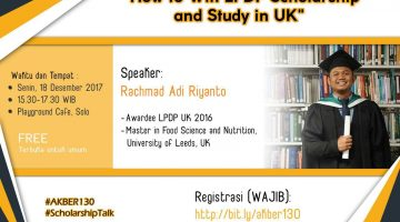 Solo: How To Win LPDP Scholarship and Study in UK