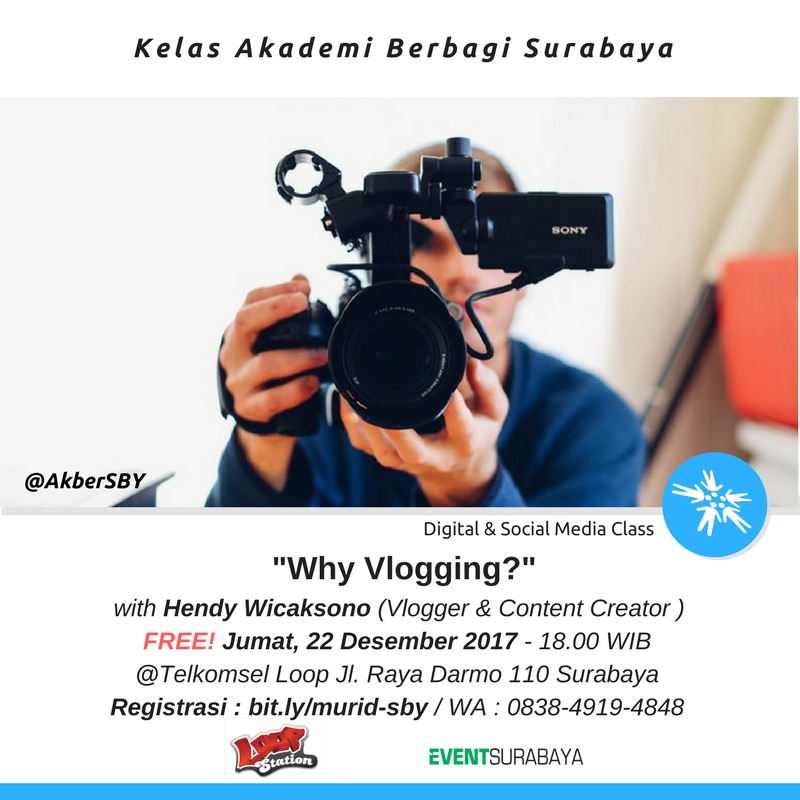 Surabaya: Why Vlogging?