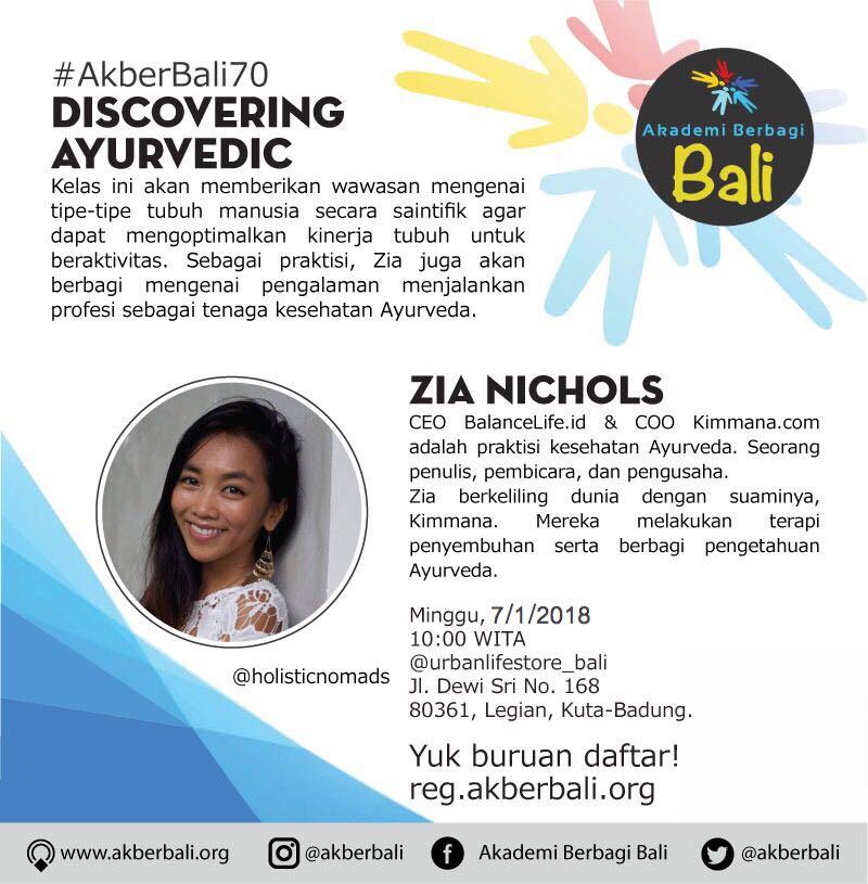 Bali: Discovering Ayurvedic