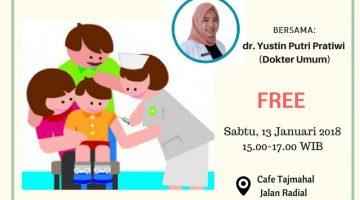Palembang: Vaksin Difteri, Haruskah?