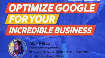 Jogja: Optimize Google For Your Incredible Business