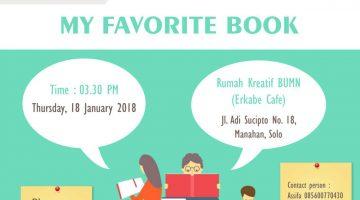 Solo: #EnglishClub – My Favorite Book