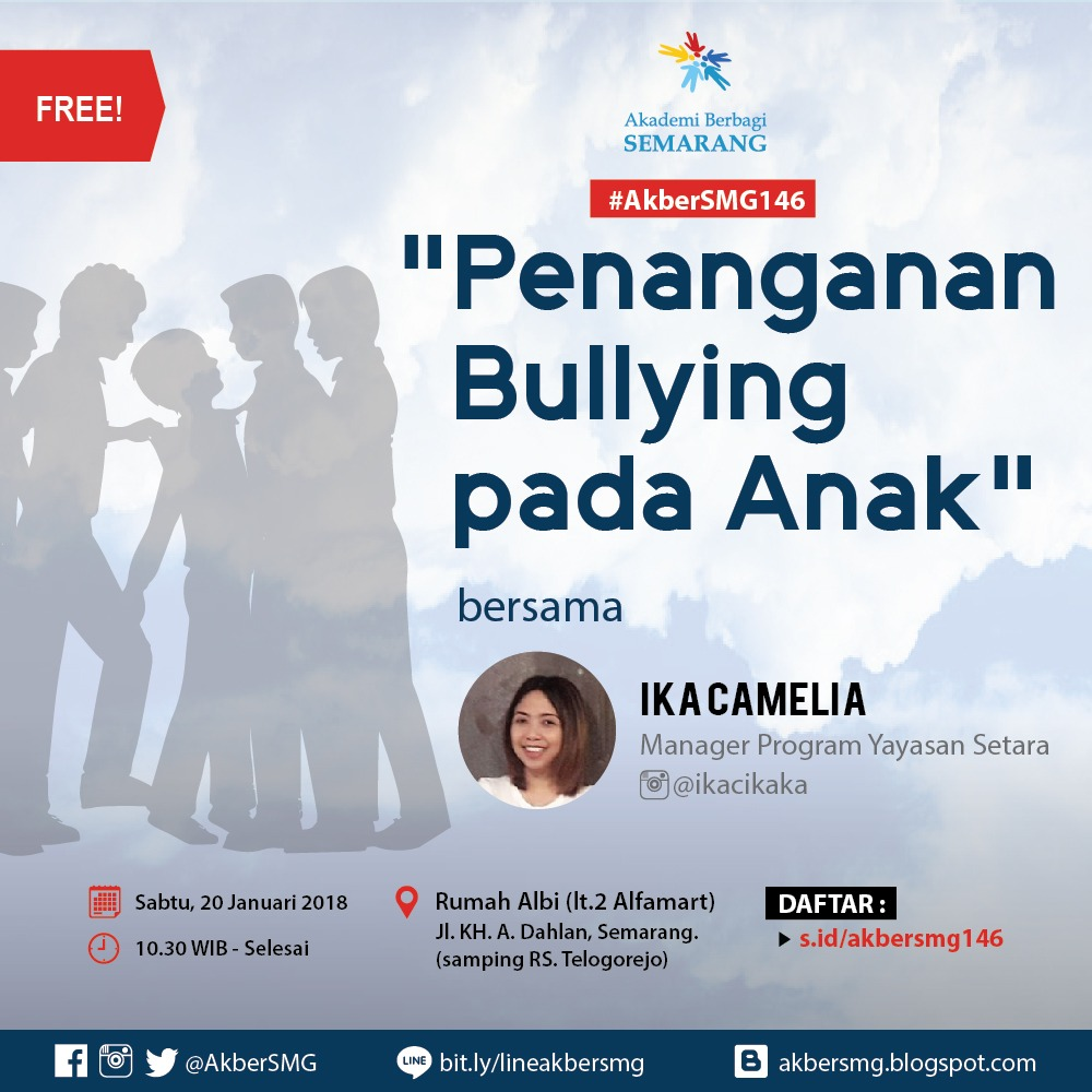 Semarang: Penanganan Bullying pada Anak