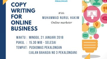 Pekalongan: Copywriting For Online Business