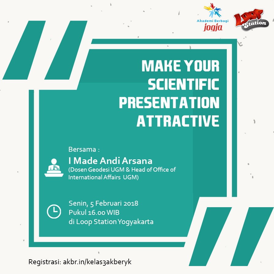 Jogja: Make Your Scientific Presentation Attractive