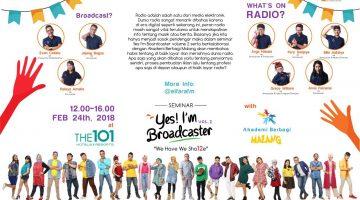 Malang: Yes! I'm Broadcaster Vol. 2