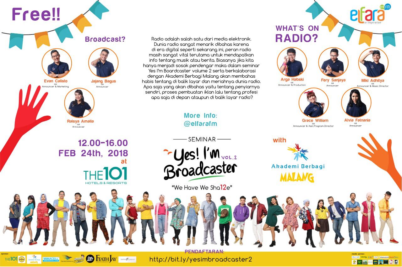 Malang: Yes! I'm Broadcaster Vol. 2