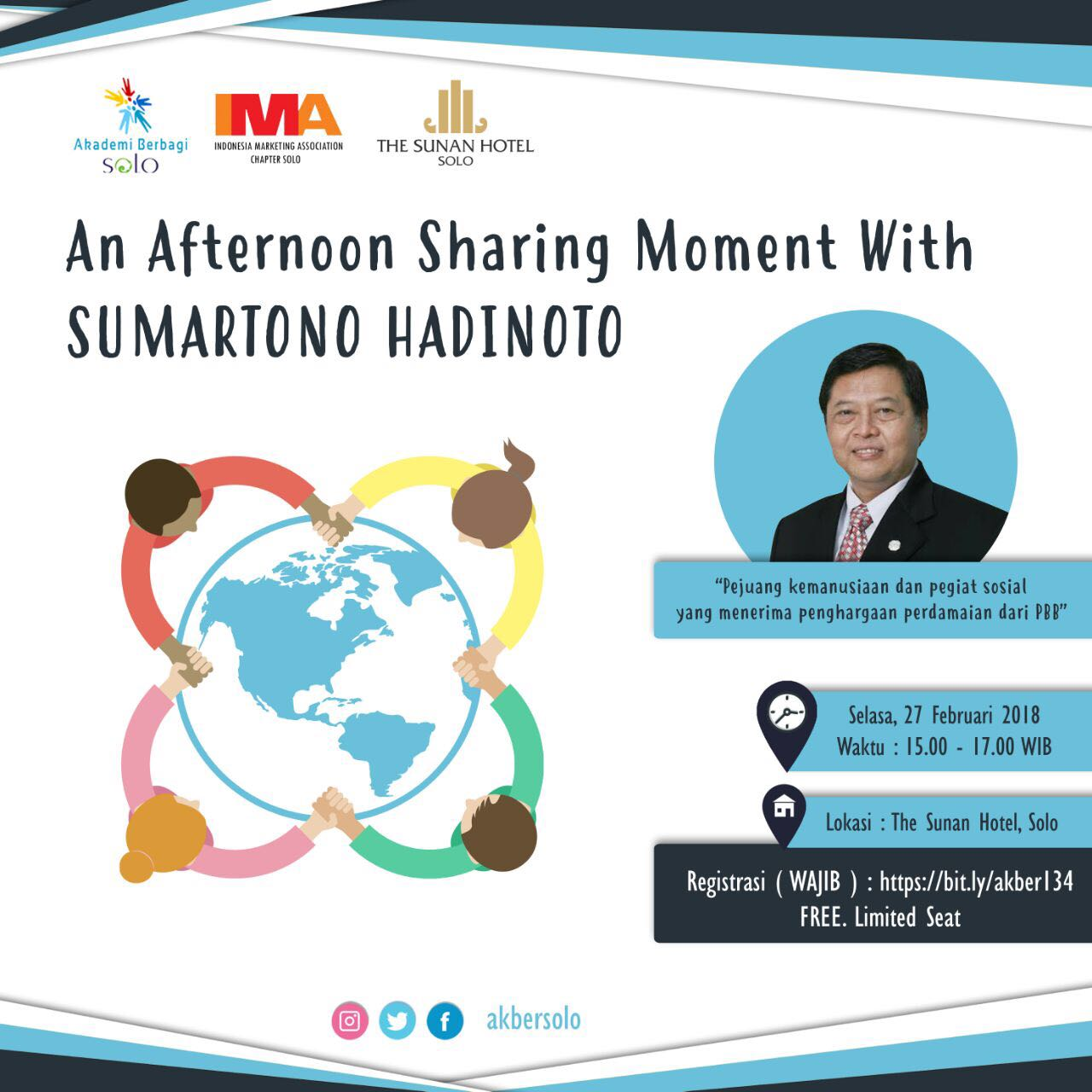 Solo: An Afternoon Sharing Moment with Sumartono Hadinoto