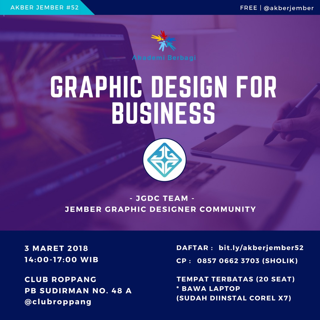 Jember: Graphic Design for Business