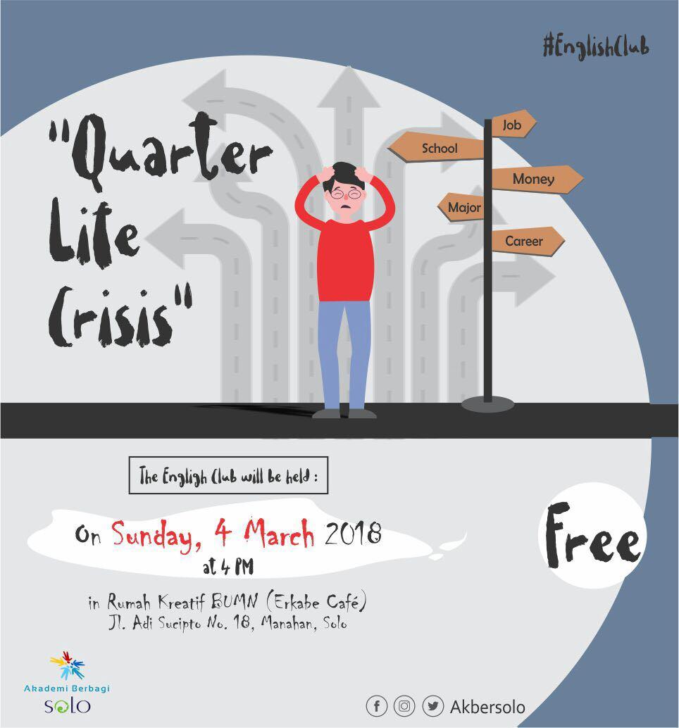 Solo: #EnglishClub – Quarter Life Crisis