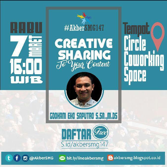 Semarang: Creative Sharing To Your Content