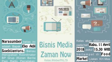 Pekalongan: Bisnis Media Zaman Now