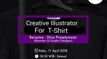 Semarang: Creative Illustrator for T-Shirt